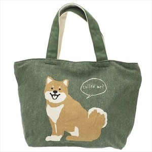 Life Fastener Attached Bag Shiba Dog