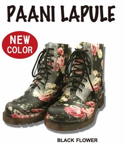 Ladies Boots Type Rain Flower