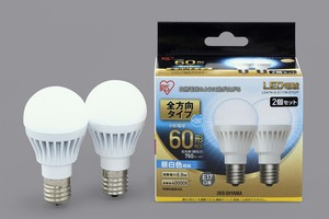 LED Light Bulb Type 2Pcs set White Light Bulb Substantially
