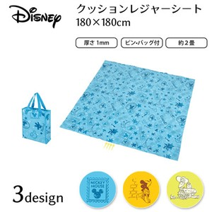 PEARL KINZOKU Disney Cushion Picnic Blanket