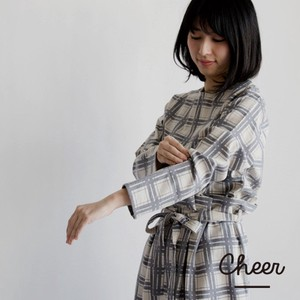 Cotton Checkered Blouse