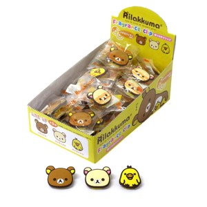 Character Fragrance Clip Rilakkuma 3 Types Assort Honey Lemon Aroma