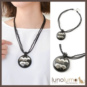 Mono Tone Color Design Necklace
