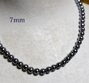 7mm Pearl Black Pearl Necklace
