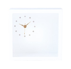Plus Wooden Style Clock