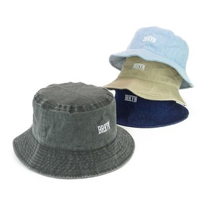 Embroidery Bio Wash BUCKET HAT Young Hats & Cap