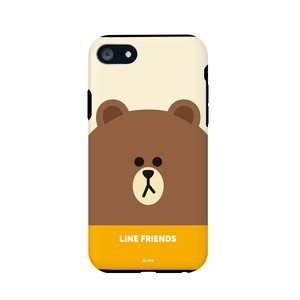 iPhone SE Case Line Friends Case Face