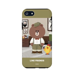 iPhone SE Case Line Friends Case Theme