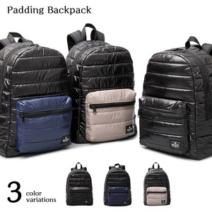 Down Backpack Nylon Padding Backpack