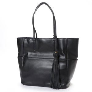 Tassel Attached A4 Tote Bag