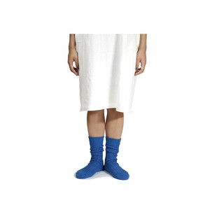 【decka quality socks】〈 de-01 〉Women's / Cased heavy weight plain socks