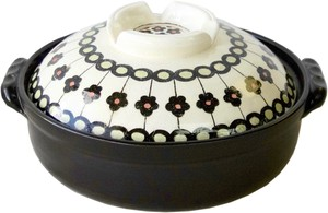 Earthen Pot Size 8 Line Flower