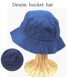 S/S Denim BUCKET HAT