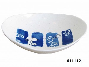 Snoopy Japanese Plates & Utensil Series Arabesque
