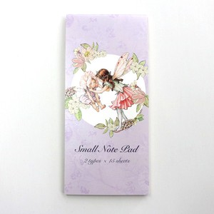 【Flower Fairies】一筆箋(Sweet  Pea)
