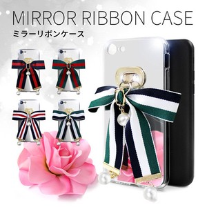 iPhone SE Case Mirror Ribbon Case