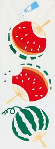 Thusen Hand Towel Watermelon Japanese Fan WAFUKA