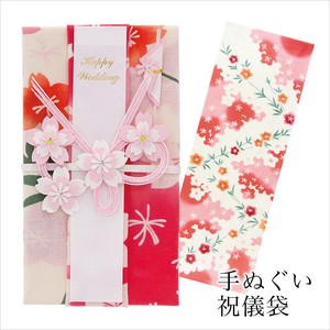 Hand Towel Gift Money Envelope Sakura Thusen
