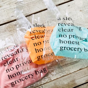 Clear Bag Pouch Set Fancy Goods Clear