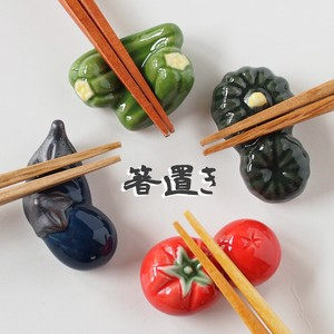 Chopstick Rest Vegetables Mino Ware