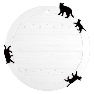 Silicone Pot Stand cat Round shape