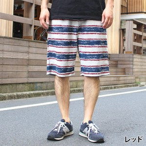 Fleece Border Shorts
