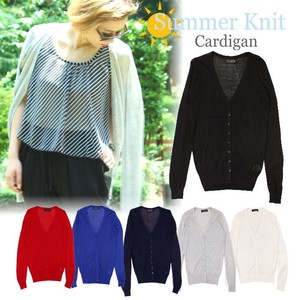 6 Colors Basic Summer Knitted Cardigan