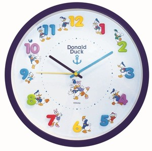 Disney Icon Wall Clock Donald