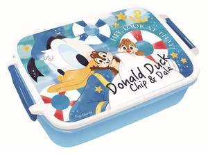 Disney 1 Step Lunch Box Donald Chip 'n Dale