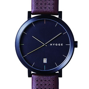 【POS+/北欧】[HYGGE]2203 - BROWN LEATHER / BLACK DIAL 《腕時計》