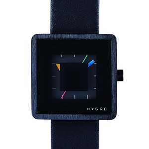 【POS+/北欧】[HYGGE]2089 - LEATHER / ALL BLACK 《腕時計》