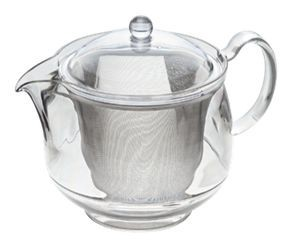 Clear Tea Pot Stainless Mesh