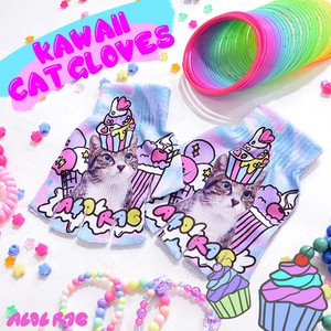 Fancy Cat Glove cat Cat Glove Glove Fancy Pastel