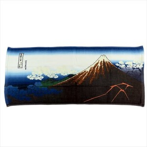 Art & Design Book One Side Gauze Long Towel Yamashita