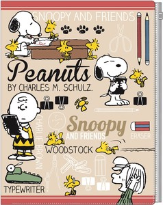 Snoopy Plastic Folder Stationery