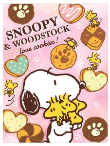 Snoopy Plastic Folder Cookies