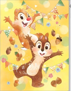 Disney Plastic Folder Chip 'n Dale