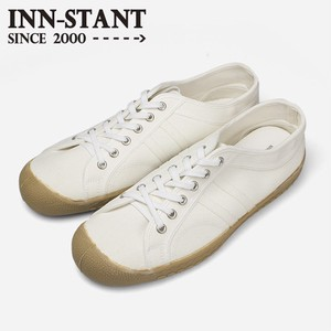 INN-STANT CANVAS SHOES #101 WHITE/WHITE(GUM SOLE)