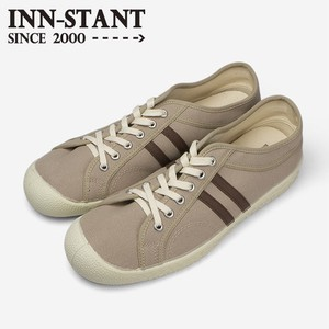 INN-STANT CANVAS SHOES #110 BEIGE/BROWN(NATURAL SOLE)