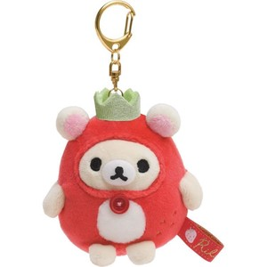 Rilakkuma Soft Toy Rack Strawberry Party Super