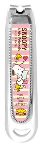 Snoopy Fingernail Clippers Letter