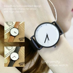 Artificial Leather Clock/Watch