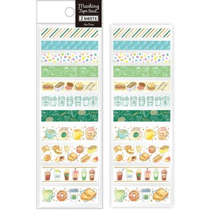 Washi Tape SEAL Cafe