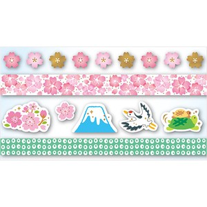 Gold Leaf Assort Washi Tape Sakura