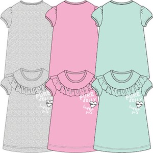 2018 Summer Switch Tunic T-shirt 3 Colors 10cm 30cm