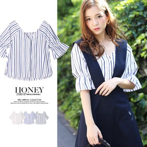 Stripe Candy Blouse Top