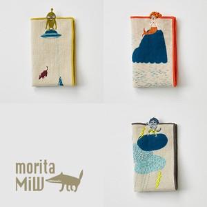 【MiW style】小さなポケットハンカチ <ハンカチタオルサイズ>