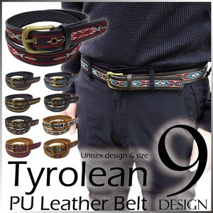 Lian Belt Outdoor Good Native Leather Unisex Ethnic
