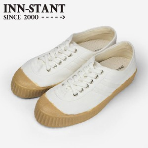 INN-STANT CANVAS SHOES-NEO #801 WHITE/WHITE(GUM SOLE)