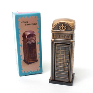 Stationery Retro Antique Sharpener Pencil Phone Box